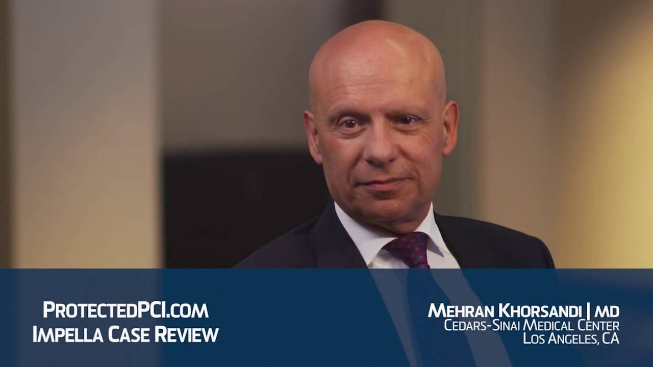 Dr. Mehran Khorsandi Protected PCI interview