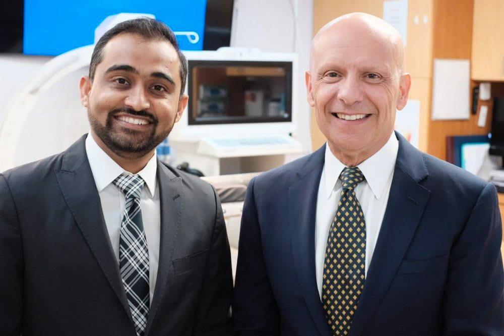 Dr. Moinakhtar Lala and Dr. Mehran J. Khorsandi of CACVI